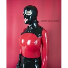 Heavy rubber fixation collar cut shape - model.02